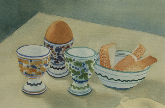 Egg and Shell painting