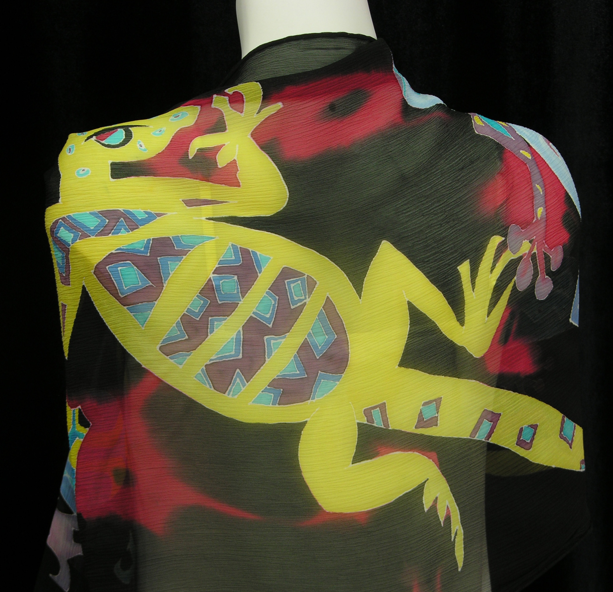 Monster Silk Scarf