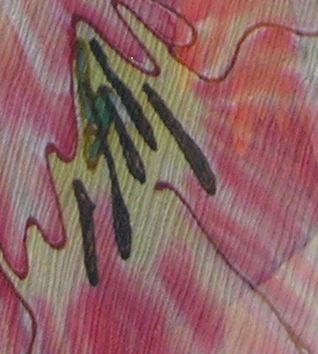 Parrot Tulips Silk Scarf thumb